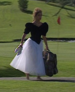 Seriously, what's with the carpet bag?