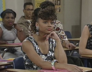 It appears Jessie failed to notice, and apologize profusely to, the other black students in the class. Rude.