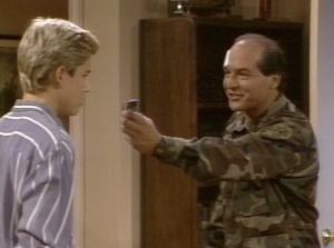You know what'd be really funny? If I set this live grenade off in my own home! While I'm still holding it! Hahahaha!